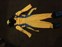 Halloween fancy dress costume wolverine muscle outfit