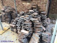 Roof tiles (second hand job lot of around 2000)