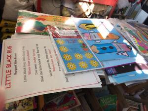 Bulletin Board sets and Educational Charts