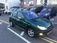 Peugeot 206 1.6 Roland garros, leather panoramic roof, new mot