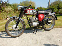 BSA D14 BANTAM SPORTS 1968 175cc MATCHING NUMBERS