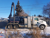 Hydrovac services Meridian utilities prince albert