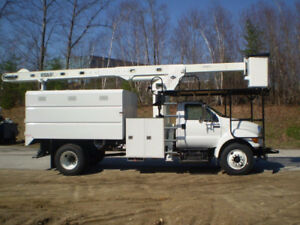 Bucket Truck - 2013 F750 Forestry Truck For Sale