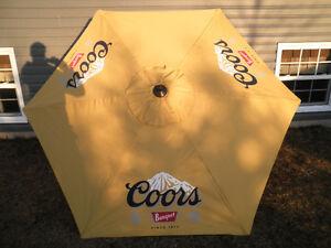 Coors Banquet Patio Umbrella.