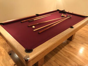 Duffern Compact Pool Table