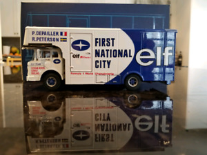 1:43 Diecast Exoto 1971 Ford C Type Tyrrell F1 Transporter