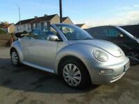 Volkswagen Beetle 1.9TDI CONVERTIBLE 9 SERVICE STAMPS+AIR CON+ELECTRIC ROOF