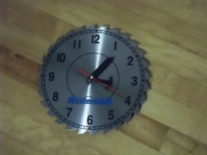 New Condition Saw Clock
