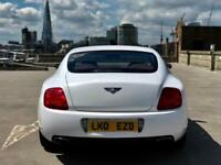 Bentley Continental GT - WHITE + LOW MILEAGE
