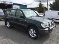 Toyota Land Cruiser Amazon 4.2TD face lift auto active 7 seater 2004 54 Reg