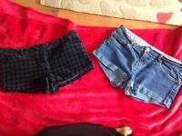 Two pairs of shorts size 14