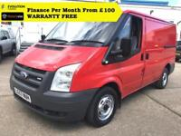 Price: £4190 + VAT From £90 MONTH Finance 2008 Ford Transit 260 SWB 2.2 TDCi Lo