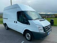 Ford Transit 2.2TDCI 115PS MWB HIGH ROOF 1 OWNER TWIN SIDE DOORS WOW JUST 54,000