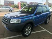 2002 Land Rover Freelander Mot 01/2019 Service Invoices Available Low Miles 94k