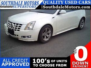 2012 CADILLAC CTS COUPE PERFORMANCE * LEATHER * REAR CAM * BLUET