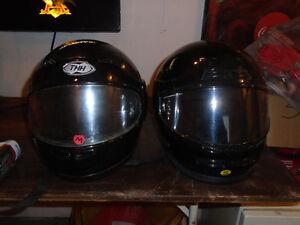 helmets n snowshoes