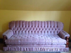 Old style couch, good for camp
