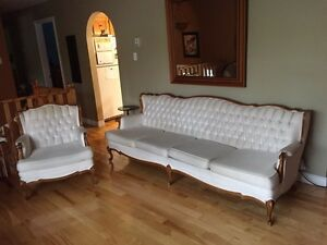 Skylar French Provincial sofa/ couch and matching chair