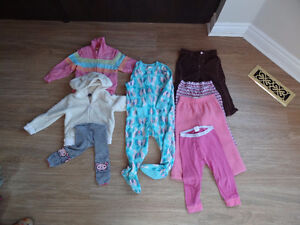Baby or toddler girl clothes size 18-24months