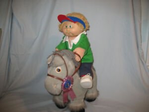 CABBAGE PATCH DOLL AND HORSE