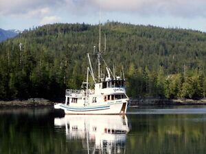 Ex-Seine charter vessel available for purchase