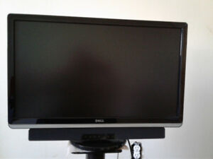 Dell ST2420 L monitor with Sound Bar