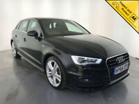 2014 64 AUDI A3 S LINE TDI DIESEL 1 OWNER FROM NEW FINANCE PX WELCOME
