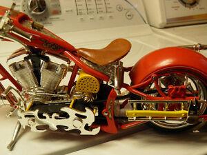 OCC Replica Fire Bike with lights, motor sound and Siren. Gatineau Ottawa / Gatineau Area image 4