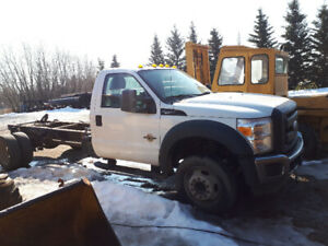 2011 FORD F450 6.7 Power Stroke Diesel Deck Truck