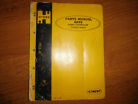 HYSTER D89B Power Controlled Towing Winch Parts Manual CAT