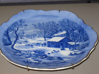 Currier and Ives A Home in the Wilderness Decorative Collector