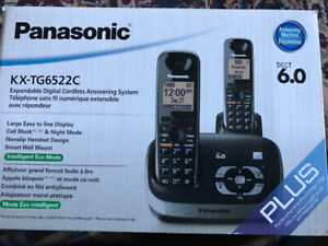 Panasonic KX-TG6522 Main Cordless Phone with Answering Machine