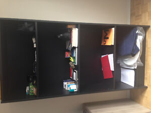 Bookcase black type billy from ikea