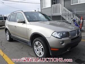 2008 BMW X3  4D UTILITY 3.0I AWD