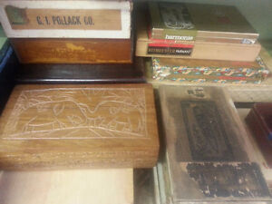 OLD  EMPTY TOBACCO TINS AND CIGAR BOXES London Ontario image 2