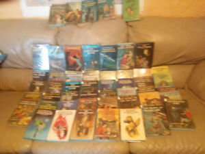 THE HARDY BOYS  51 Mylar covered books of the series..