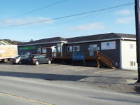 Prime main highway Commercial building Ocean Front Witless Bay!