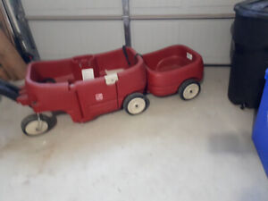Child's wagon and trailer