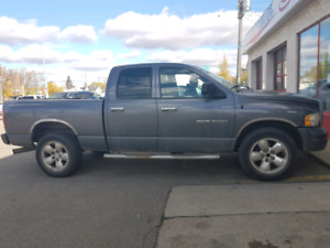 For Sale 2002 Dodge 1500 4X4 Grey crewcab