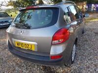 Renault Clio 1.5dCi 86bhp Expression Estate Car, #£30 Tax#, Air Con