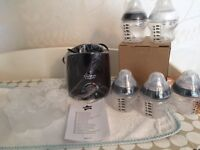 Brand new and sealed tommee tippee bottle warmers bottles and milk pots