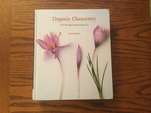 Organic Chemistry with Biological Applications (2nd edition) Kitchener / Waterloo Kitchener Area image 1