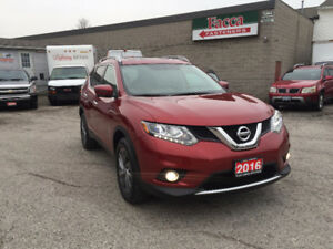 2016 NISSA ROGUE AWD SUV NAVIGATION BACKUP CAMERA SAFETY&E-TEST