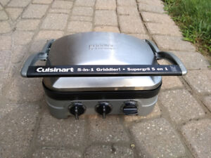Cuisinart griddler - like new