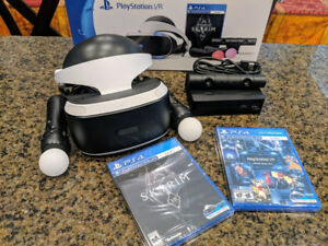 PSVR Bundle with Skyrim For sale 220