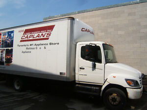 2010 Hino with 18 foot box with power tail gate