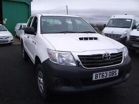 2013 White Toyota Hi-Lux 2.5D-4D 4WD Immaculate Bickerstaffe Ormskirk