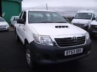 2013 White Toyota Hi-Lux 2.5D-4D 4WD HL2 Immaculate Bickerstaffe Ormskirk