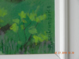 Original painting & Book  code 03 Reduced West Island Greater Montréal image 3