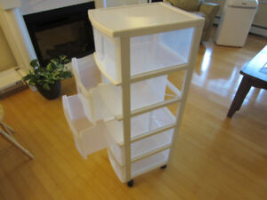 5-drawer Storage Tower